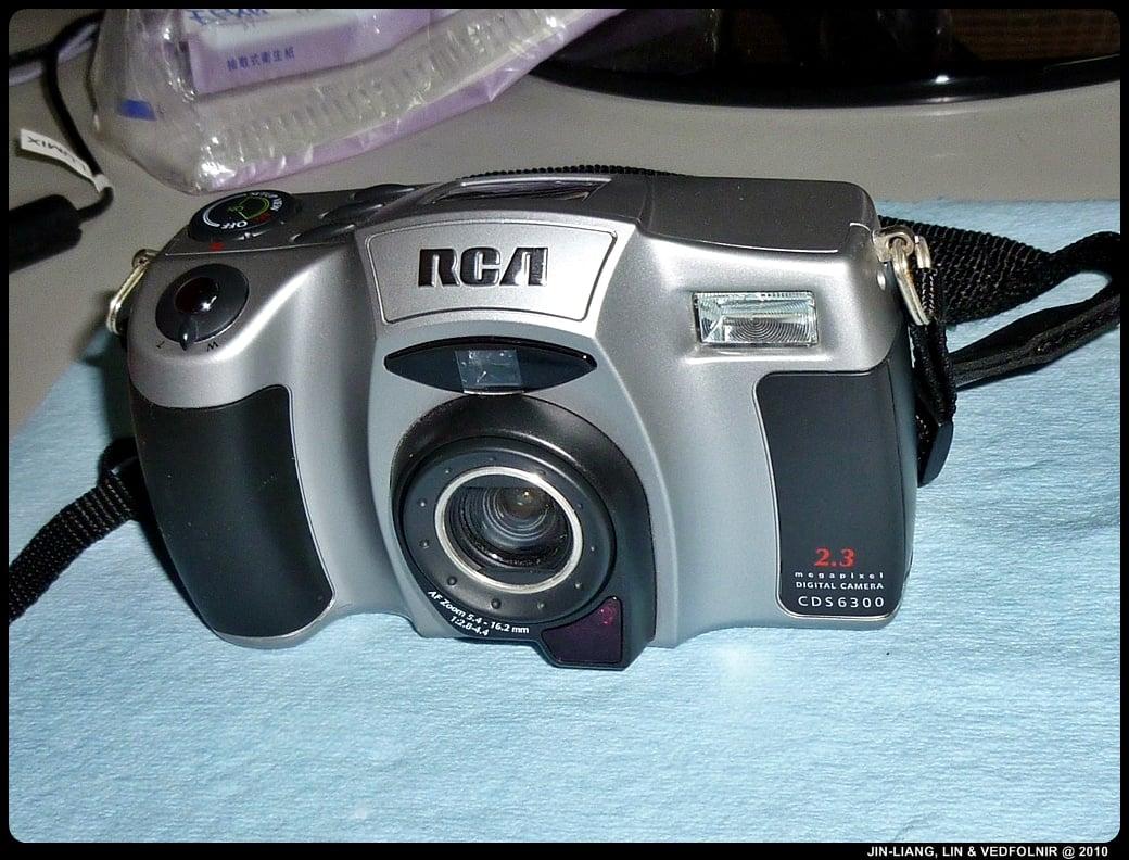 RCA Digital Camera CDS6300 01 拆解 RCA 數位照相機拆解紀錄|改裝紅外線相機
