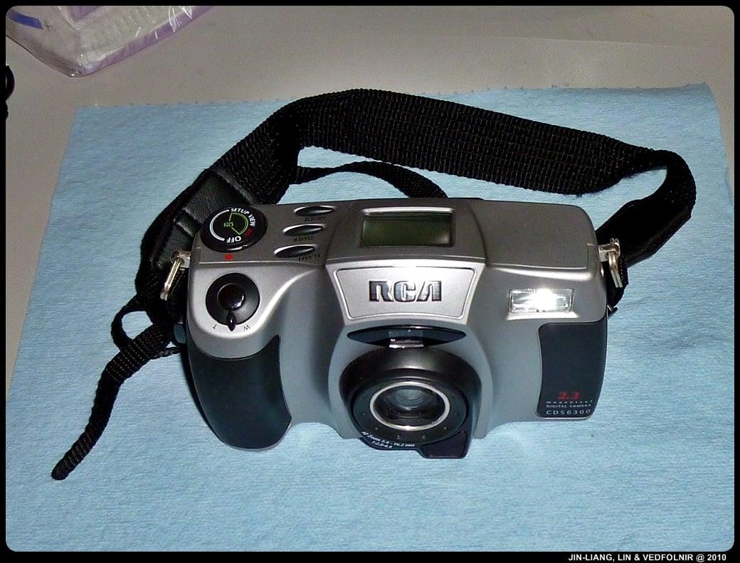 RCA Digital Camera CDS6300 02 拆解 RCA 數位照相機拆解紀錄|改裝紅外線相機