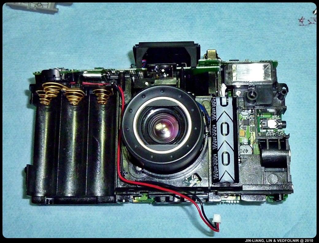 RCA Digital Camera CDS6300 09 拆解 RCA 數位照相機拆解紀錄|改裝紅外線相機