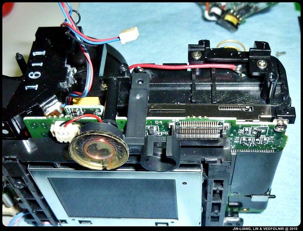 RCA Digital Camera CDS6300 13 拆解 RCA 數位照相機拆解紀錄|改裝紅外線相機