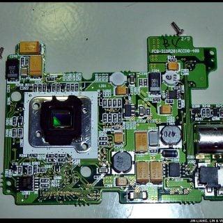 RCA Digital Camera CDS6300 17 拆解 RCA 數位照相機拆解紀錄|改裝紅外線相機