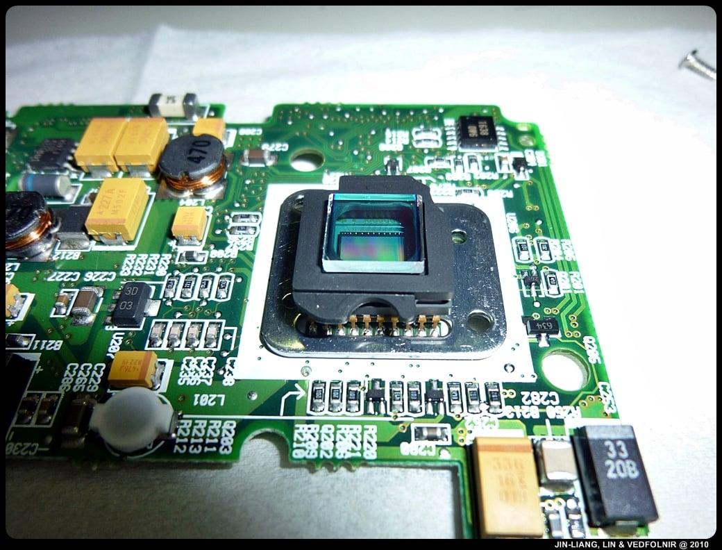 RCA Digital Camera CDS6300 19 拆解 RCA 數位照相機拆解紀錄|改裝紅外線相機
