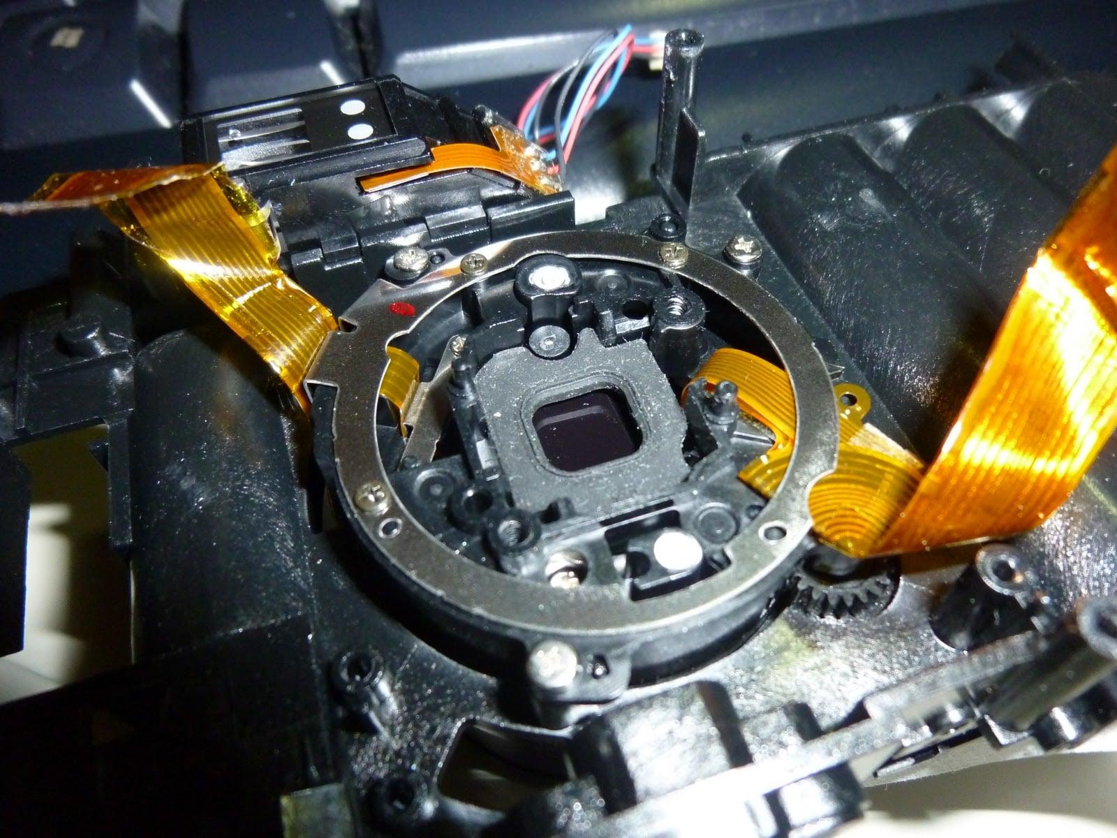 RCA Digital Camera CDS6300 22 拆解 RCA 數位照相機拆解紀錄|改裝紅外線相機