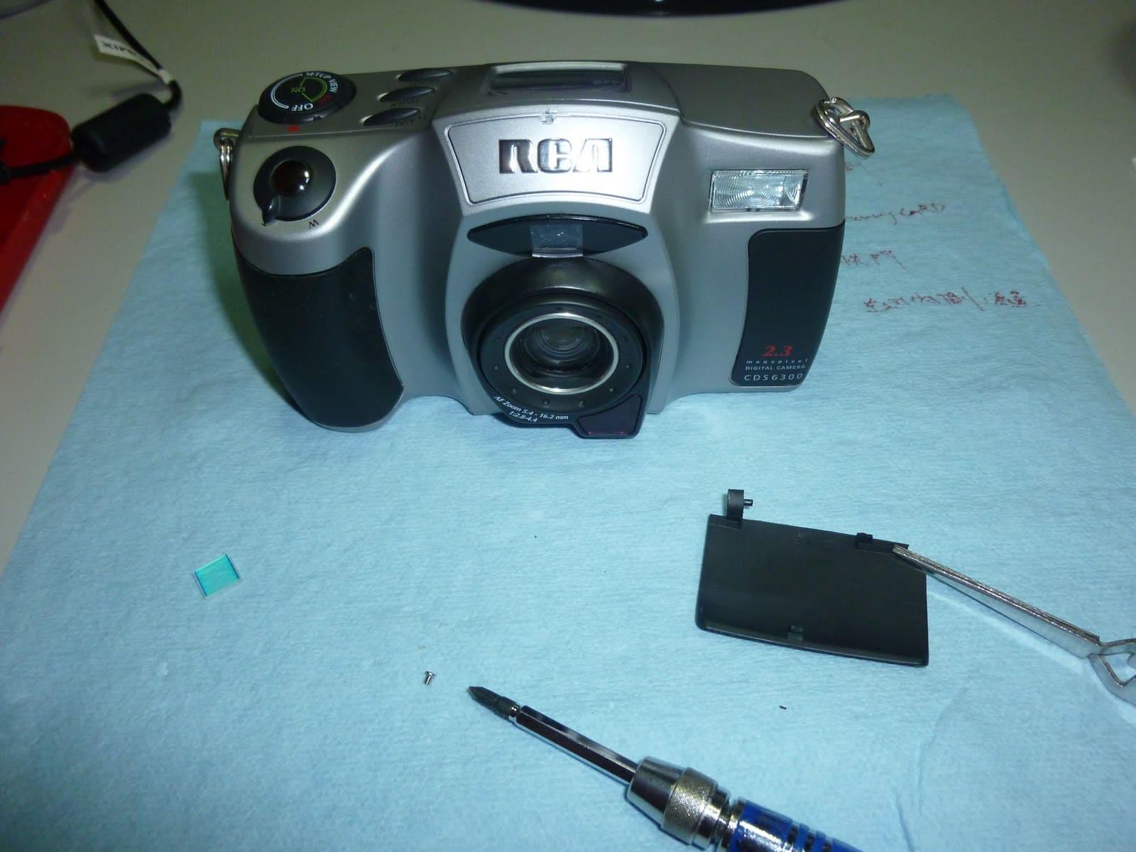 RCA Digital Camera CDS6300 27 拆解 RCA 數位照相機拆解紀錄|改裝紅外線相機