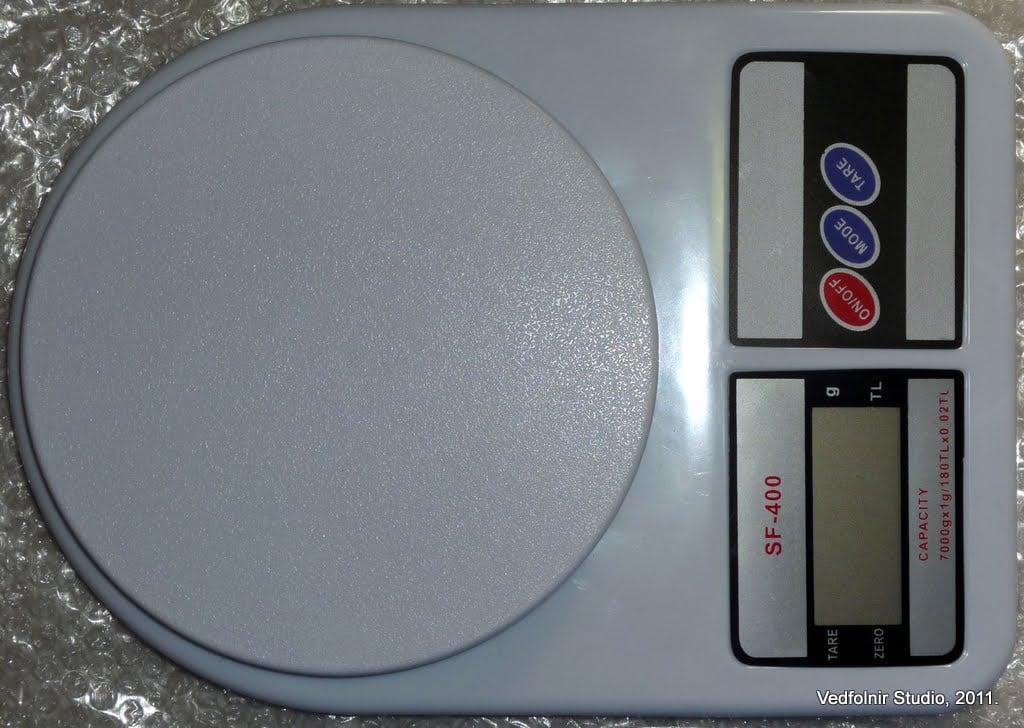 Kitchen Electronic scale 02 數位電子秤:廚房料理必備秤重工具開箱文