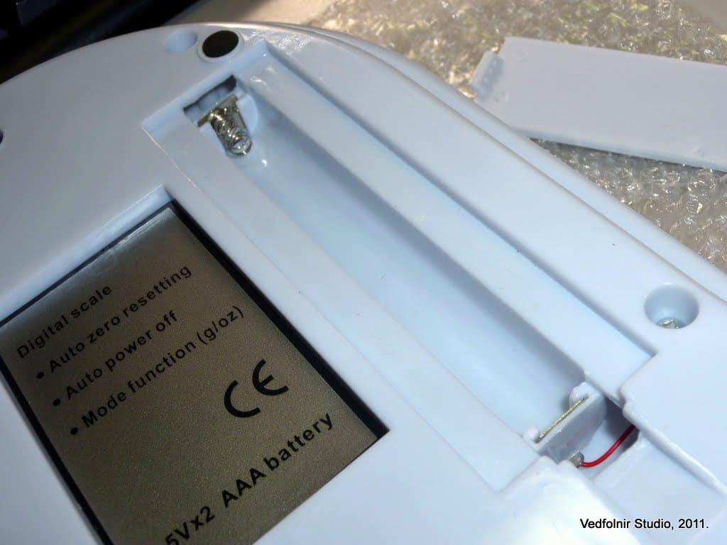 Kitchen Electronic scale 03 數位電子秤:廚房料理必備秤重工具開箱文