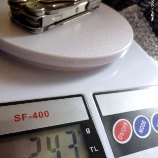 Kitchen Electronic scale 04 數位電子秤:廚房料理必備秤重工具開箱文