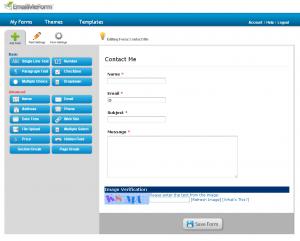 EmailMeForm 06 Create Forms EmailMeForm/建立網頁版的快速發信及留言系統(電子表單)