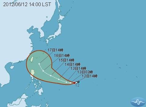 Taiwan Heavy Rain 20120611 31 32