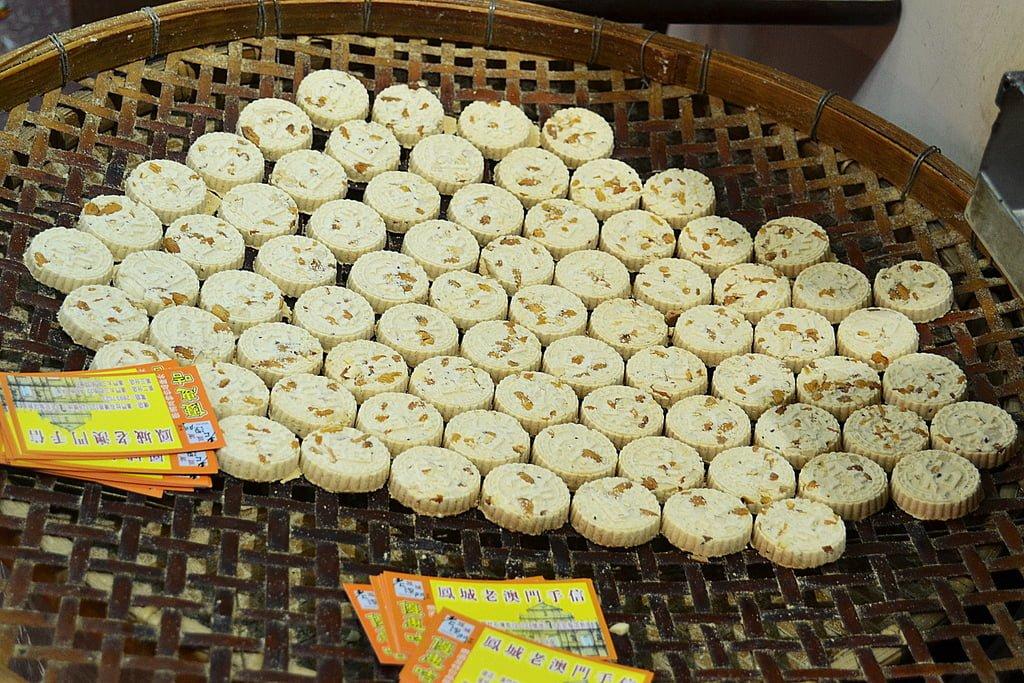 Almond biscuits, Macau