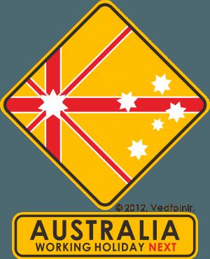 Australia_OZ_Working Holiday Visa_Logo_Designed_Vedfolnir