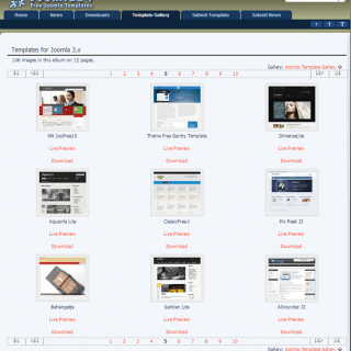 Joomla24 Free Templates Website Joomla24 免費 Templates 介紹和 Joomla 佈景樣板安裝教學