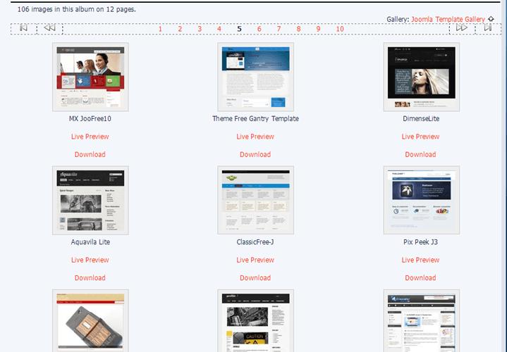 Joomla24 Free Templates Website Joomla24 免費 Templates 介紹和 Joomla 佈景樣板安裝教學