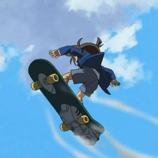 Comics Detective Conan Electric skateboard 2