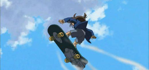 Comics Detective Conan Electric skateboard 救難科技/艾蜜莉 Emily 緊急綜合救生繩索 讓你在大海溺水也能得救