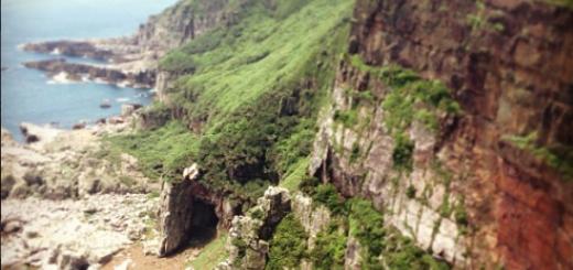 Longdong Northeast Cave of New Taipei City 東北角旅遊:龍洞與和美國小半日遊行程