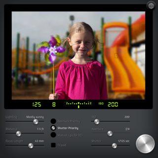 camerasim camera simulator girl 攝影教學/好玩的 CameraSim 相機模擬器 讓攝影初學者輕鬆玩拍照