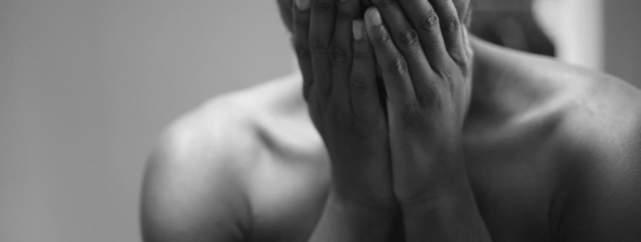 gray scale photo of topless man covering face 軍隊暗黑麵/ 學長親傳!不能對外公開的整人 9 法
