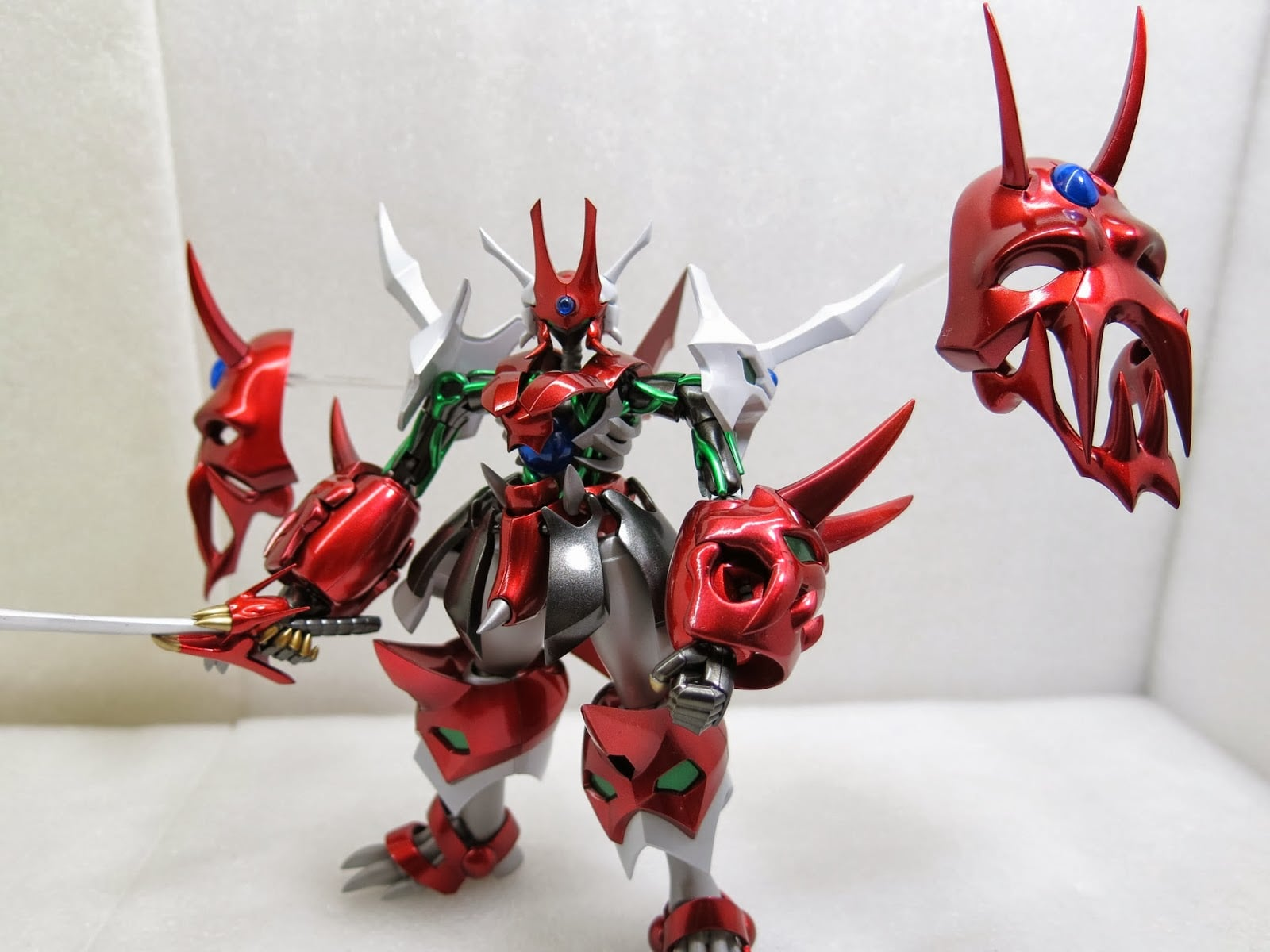 Toy Model Ghost Mask 07 約瑟夫模型:鬼面 SRG-S034~PERSON-LICHKEIT 超級機器人大戰 OG