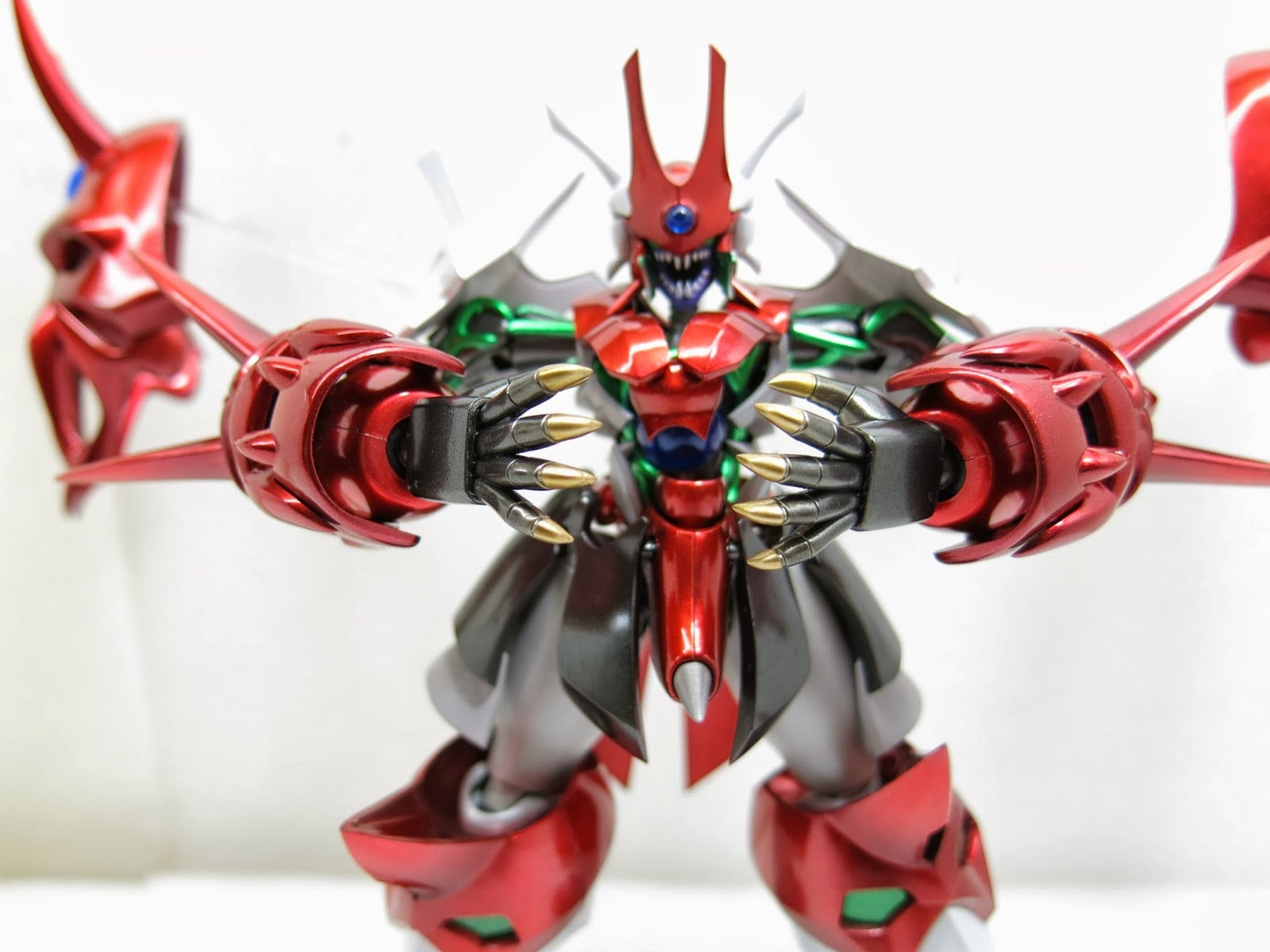Toy Model Ghost Mask 18 約瑟夫模型:鬼面 SRG-S034~PERSON-LICHKEIT 超級機器人大戰 OG