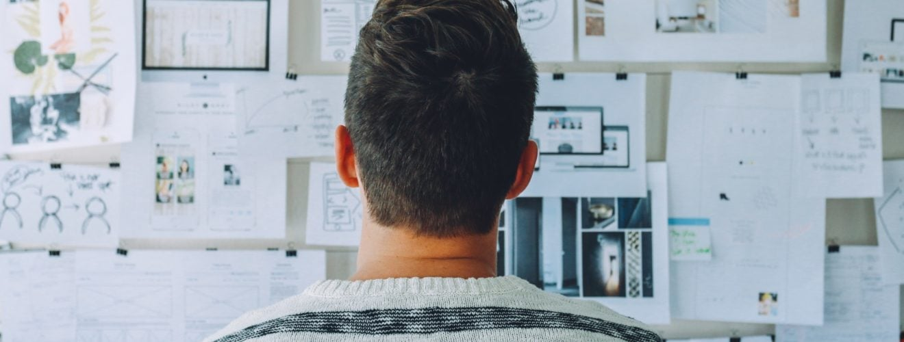 business thinking plan brainstorming complex innovation Creativity stripe shirt 心智圖軟體 FreeMind & Mindmeister 加速大腦創造力的學習|軟體推薦