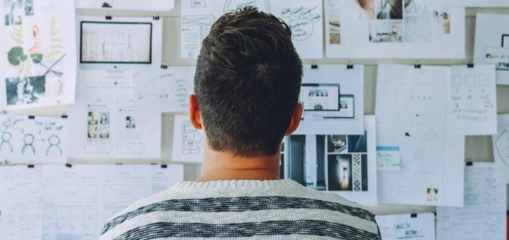 business thinking plan brainstorming complex innovation Creativity stripe shirt 「拒絕頂新」串連貼紙與徽章