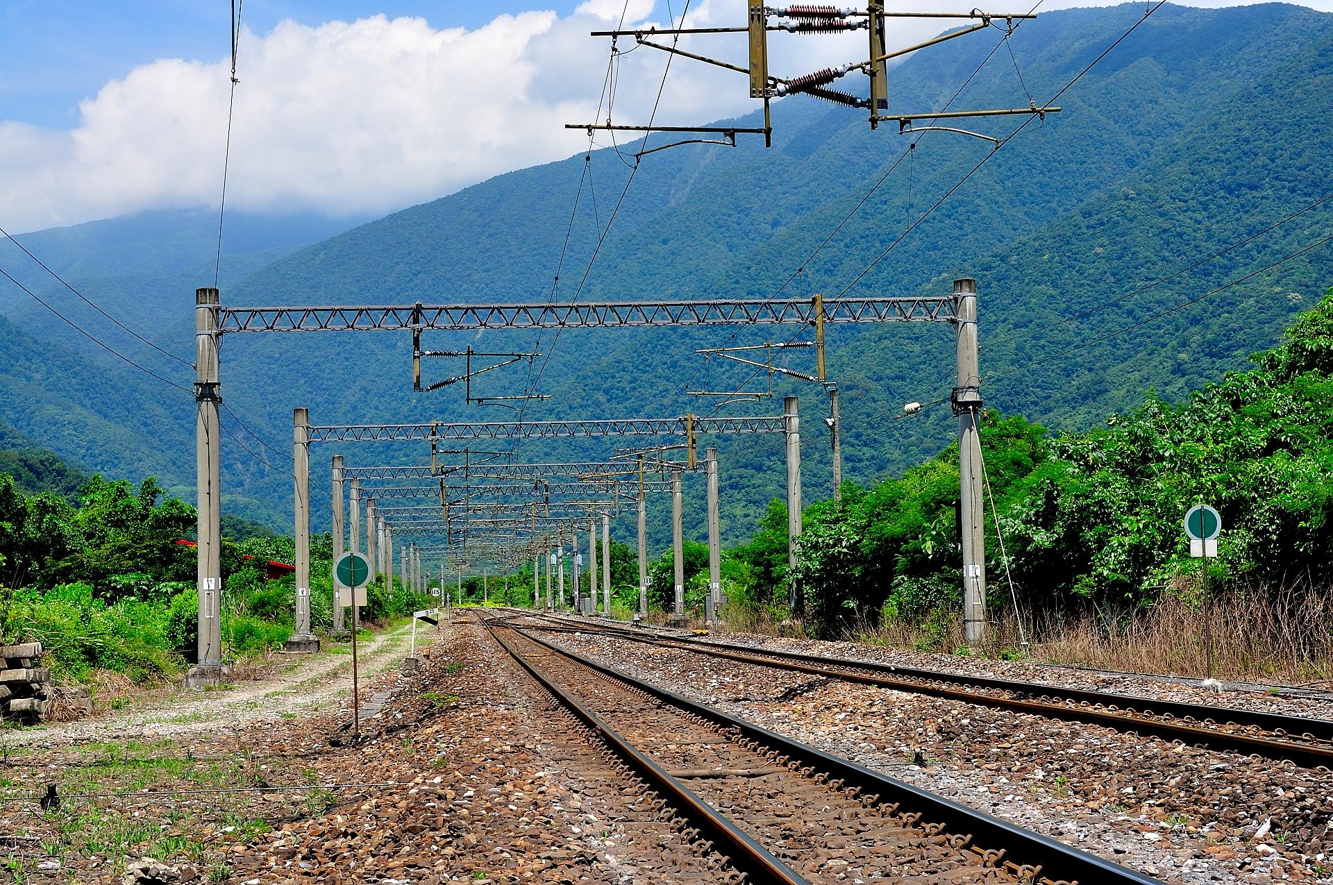 臺鐵火車鐵路:南澳段 (攝影/Lin Jin-Liang)