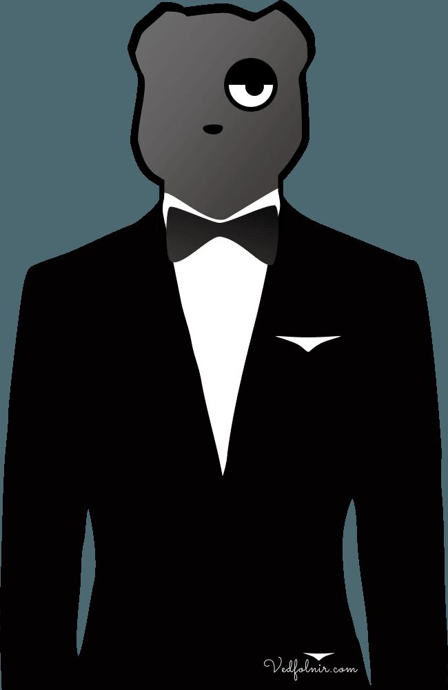 taiwan-bear-lounge-suit-西裝-台灣黑熊-設計-vedfolnir