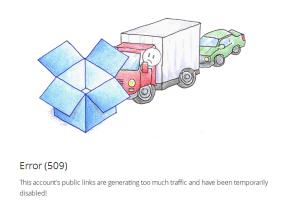 dropbox-error-509-too-much-traffic