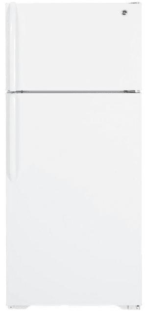 GE-Freezer-Refrigerator-GTH18GBDWW-CC-奇異-電冰箱-正面-front