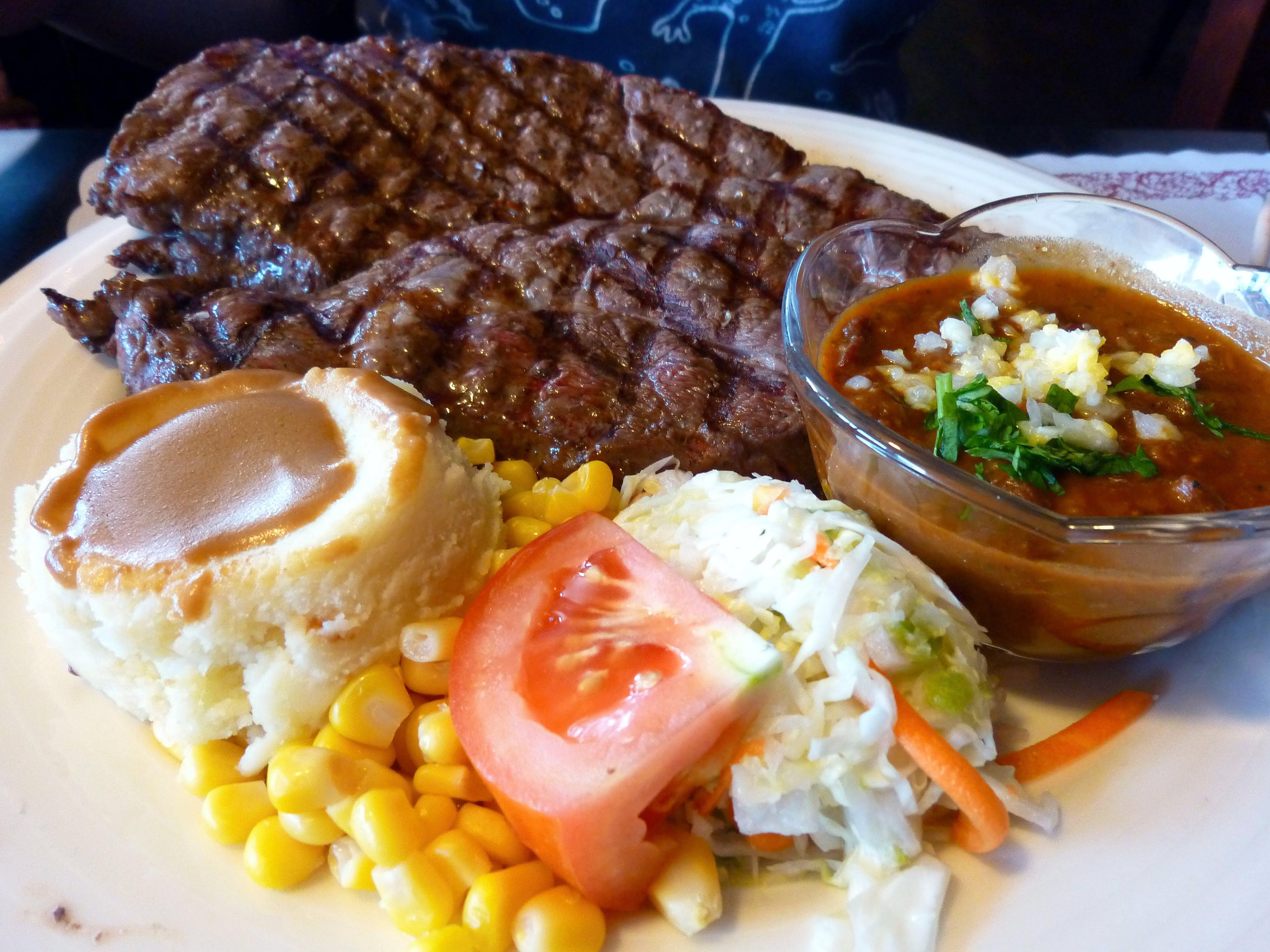 邊界驛站:牛排套餐