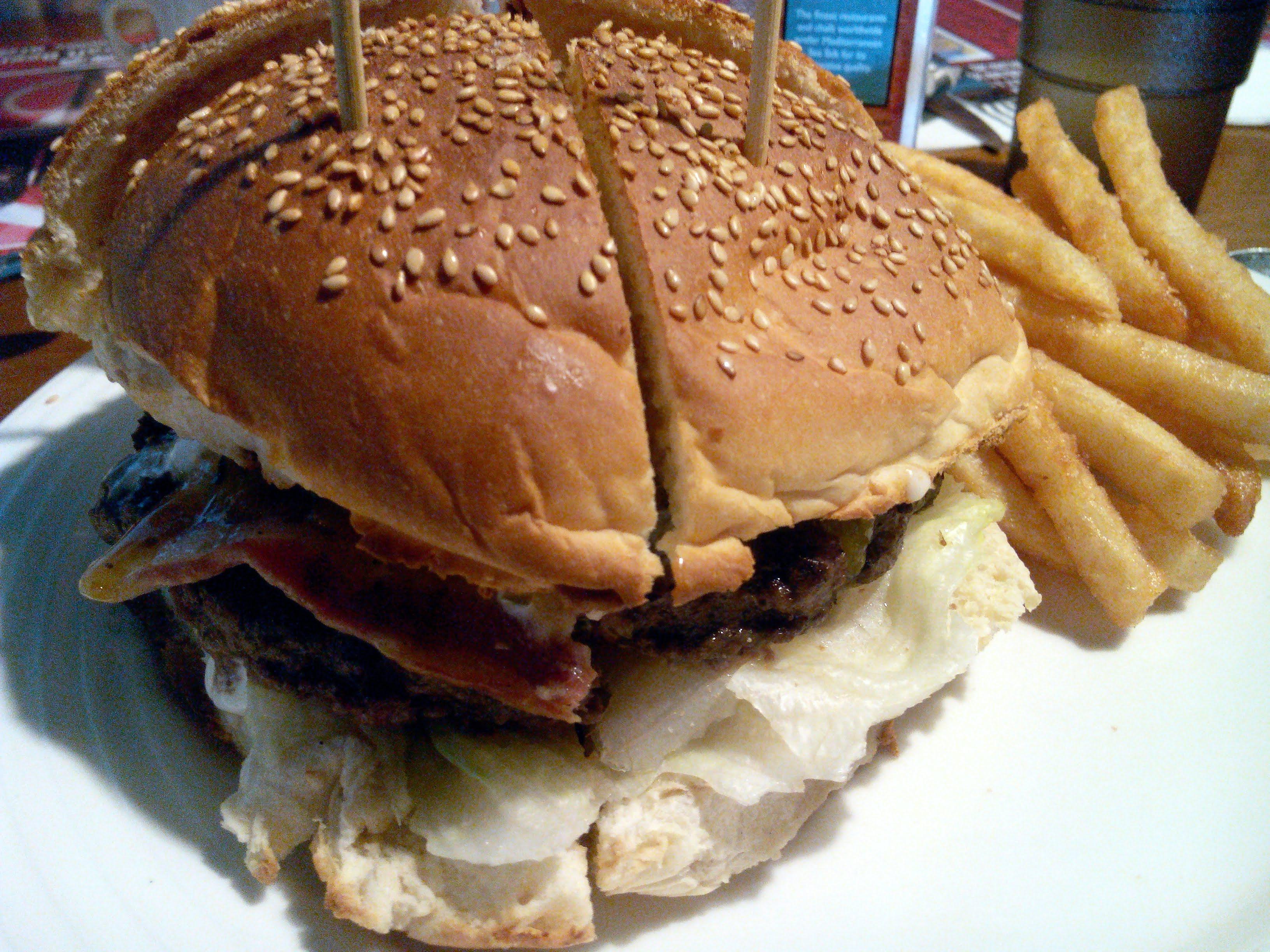 長角96:漢堡套餐