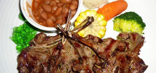 長角96:羊肉排套餐