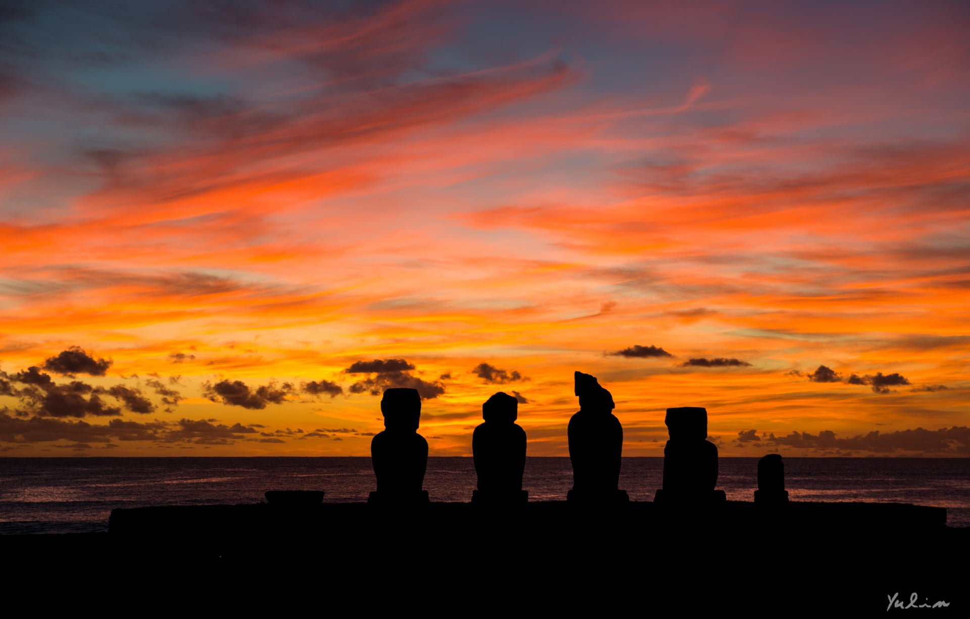 Photography-Sunset-Easter-Island-Chile-Snake-Bill