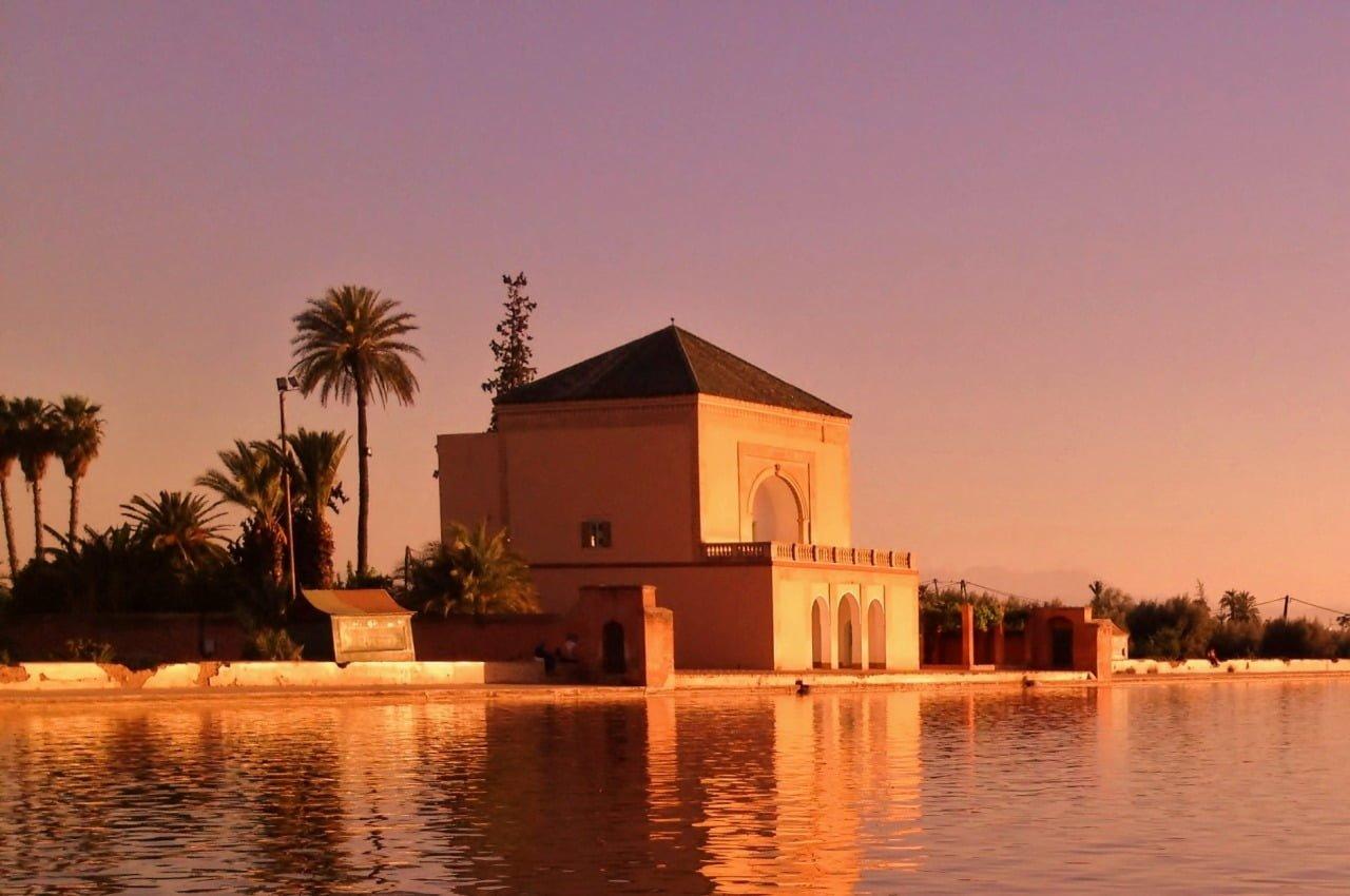 Photography-Sunset-Menara-Garden-Jardin-De-La-Menara-Mideast-Nrthafrica-Cntrlasia