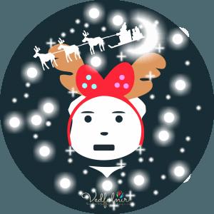 Christmas-Xmas-V-Bear-Logo-Design-Vedfolnir