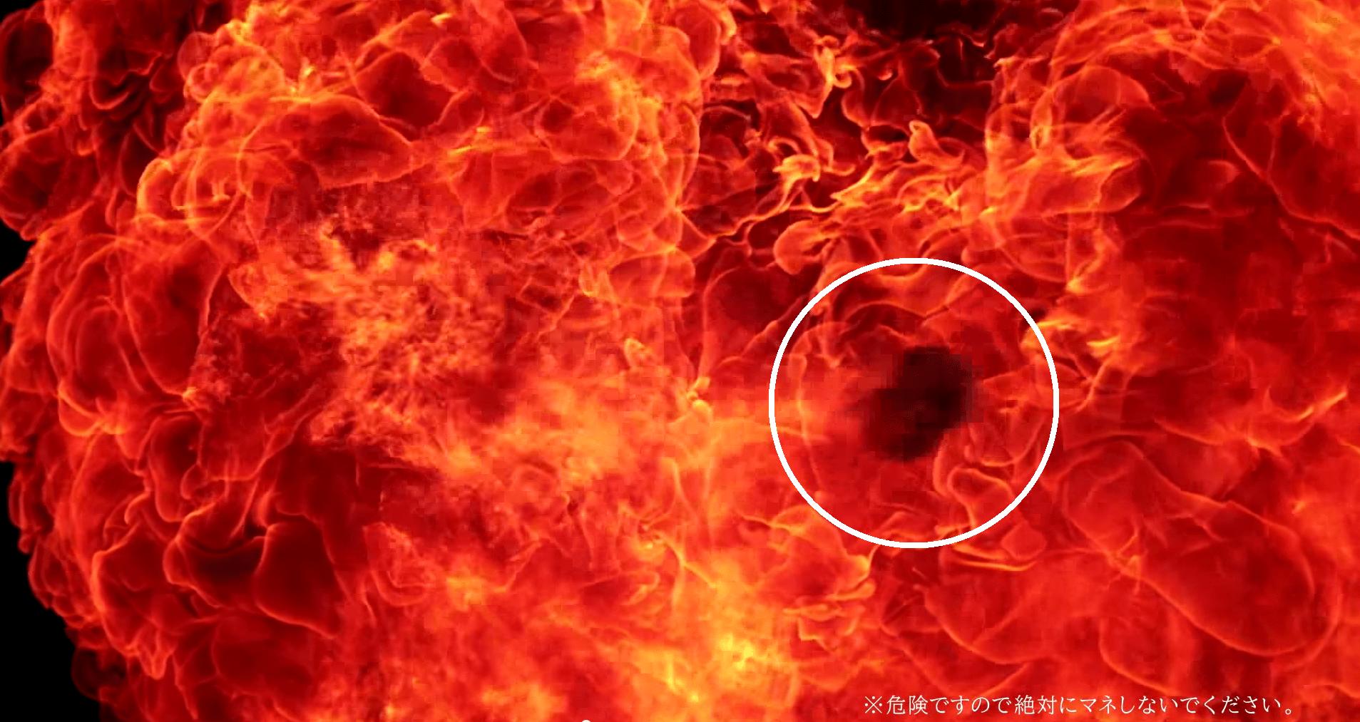 火焰中的餃子
