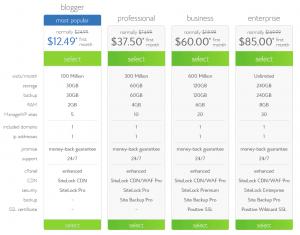 Bluehost-Optimized-Hosting-Wordpress-package