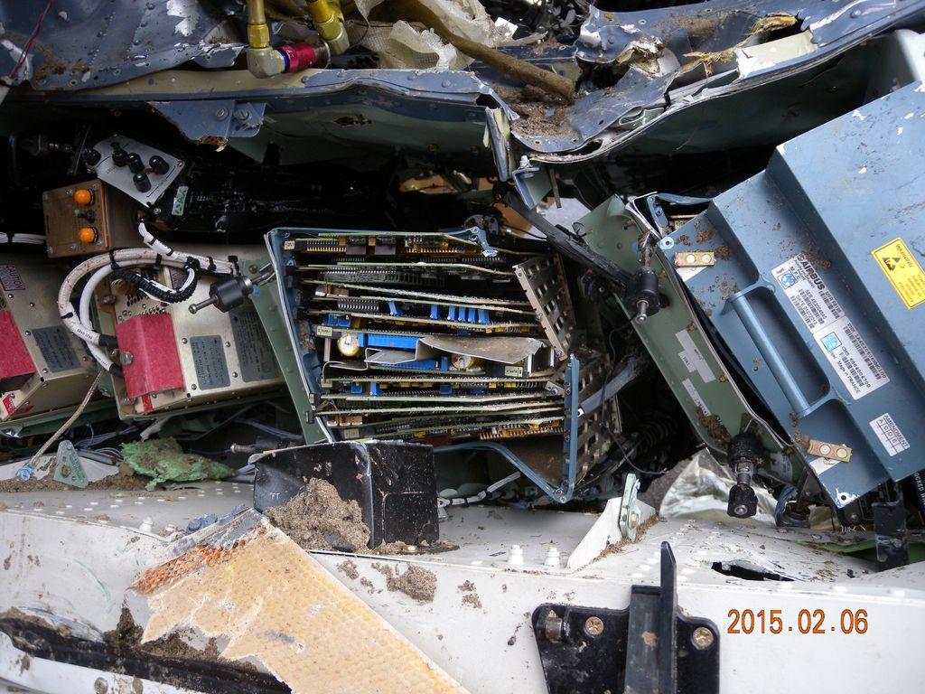 GE 235飛航事故現場尋獲之殘骸 02
