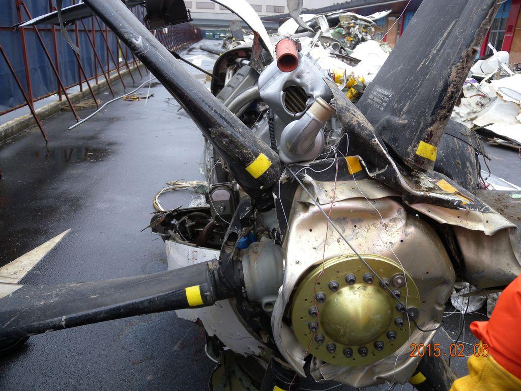 GE 235飛航事故現場尋獲之殘骸 03