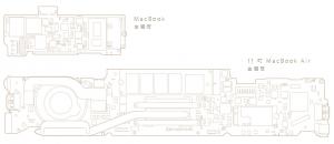 Apple-Macbook-Air-MotherBoard-MainBoard-Design