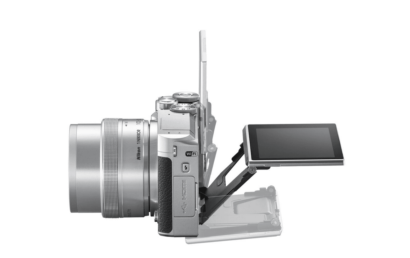 Nikon-1-J5-Camera-Exploded-View