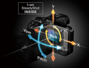 Sony A7RII 5Axis-SteadyShot-Inside