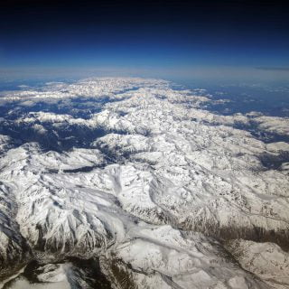 pyrenees mountains from above @mariusz kluzniak