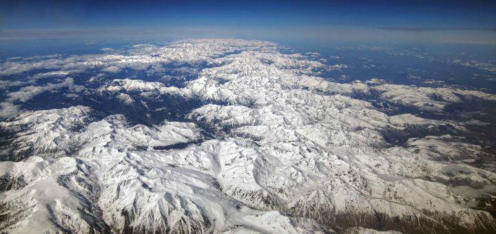 pyrenees mountains from above @mariusz kluzniak