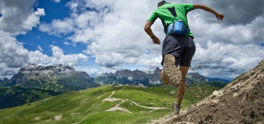 All-out trail running in the Dolomites!