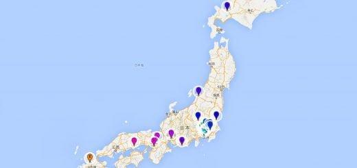 Bic Camera Japan 3C Store Map