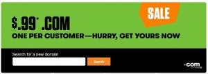 Godaddy-Cheap-Com-Domain-Name-Registration-099-USD-Dollars