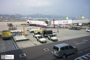 松山機場候機室(Credits: Lin Jin-Liang)。