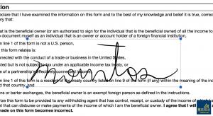 在 PDF 上建立簽名。